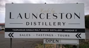 Launceston Distillery are open to visit at Hangar 17